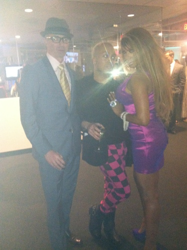 Devon, Andrae and Traci Bingham