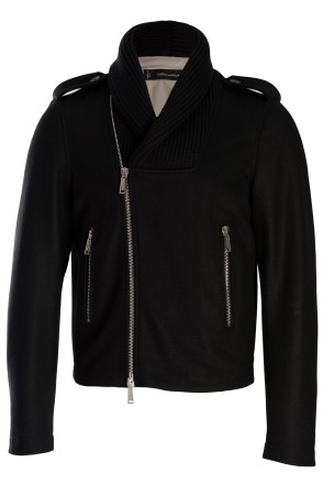 DSquared2 Knit Shawl Collar Jacket