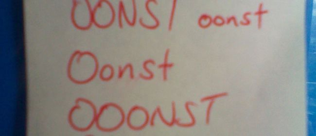OONST d(._.)b OONST d(._.)b OONST d(._.)bOONST