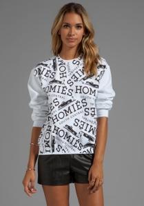 "Brian Lichtenberg ""Homies"" Graffiti Sweater"