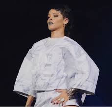 Rihanna's Custom JUUN J for her Diamond's Tour