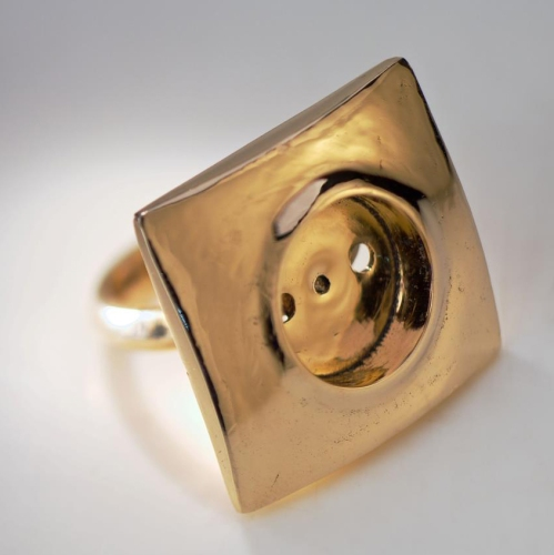 Power Outlet Bronze Ring by Farish