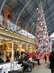 Christmas Tree at St. Pancras